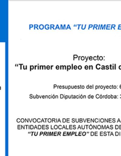 Subvenciones otorgadas a la E.L.A. de Castil de Campos 2.014 3