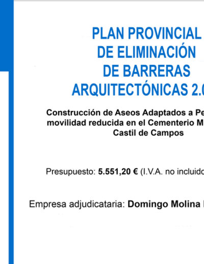 Subvenciones otorgadas a la E.L.A. de Castil de Campos 2.015 5