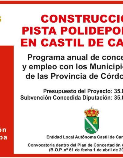 Subvenciones otorgadas a la E.L.A. de Castil de Campos 2.016 4