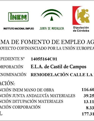 Subvenciones otorgadas a la E.L.A. de Castil de Campos 2.016 7