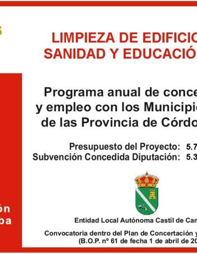 Subvenciones otorgadas a la E.L.A. de Castil de Campos 2.016 9