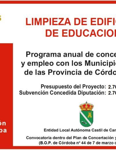 Subvenciones otorgadas a la E.L.A. de Castil de Campos 2.017 3