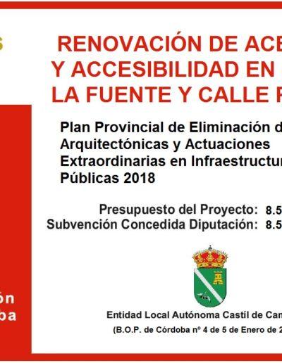 Subvenciones otorgadas a la E.L.A. de Castil de Campos 2.018 1