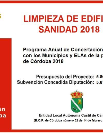 Subvenciones otorgadas a la E.L.A. de Castil de Campos 2.018 5