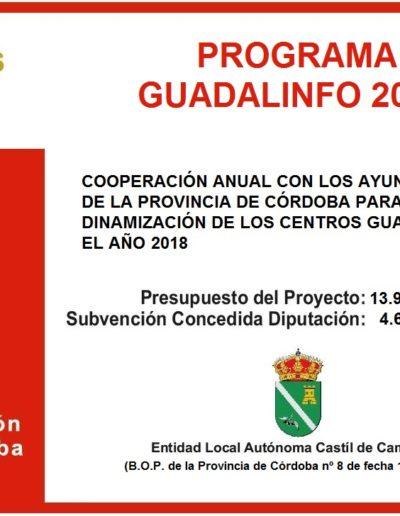 Subvenciones otorgadas a la E.L.A. de Castil de Campos 2.018 9
