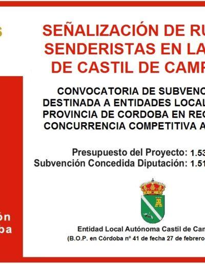 Subvenciones otorgadas a la E.L.A. de Castil de Campos 2.018 13
