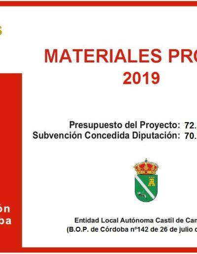 Subvenciones otorgadas a la E.L.A. de Castil de Campos 2.019 15