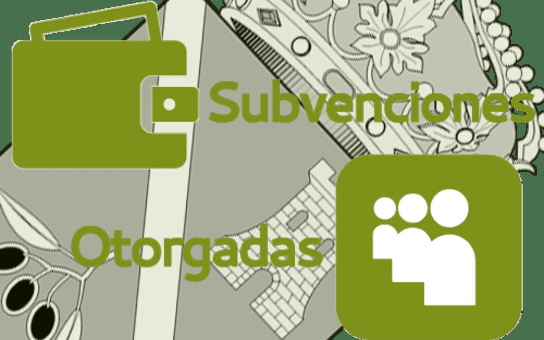 Subvenciones otorgadas a la E.L.A. de Castil de Campos 2.020