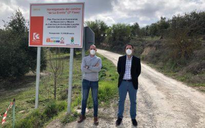 La Diputación de Córdoba lleva a cabo actuaciones en la ELA de Castil de Campos por un valor cercano a los 23.500 euros